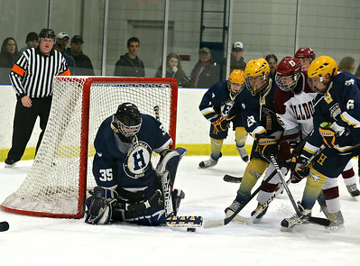 Grandville vs Hudsonville Hockey
