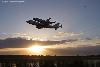 Shuttle Discovery Leaves Kennedy Space Center For The Smithsonian