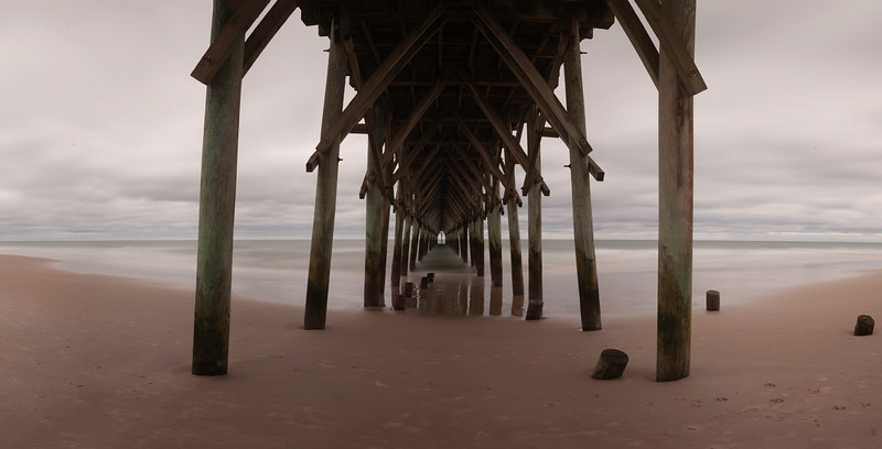 Surf City Pier raw