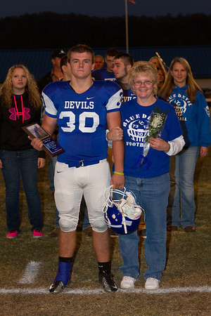 UCHS Football Senior Night