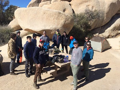 Spring Field Course 2018: Mojave Desert