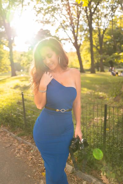 Michele in Blue