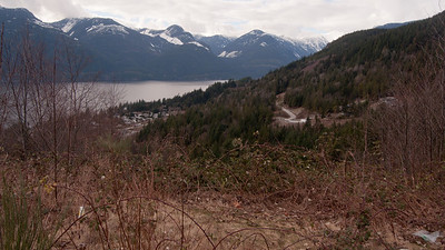 Hiking around Squamish