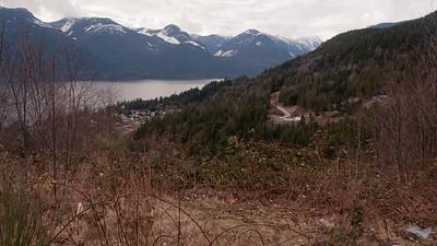 Hiking around Squamish
