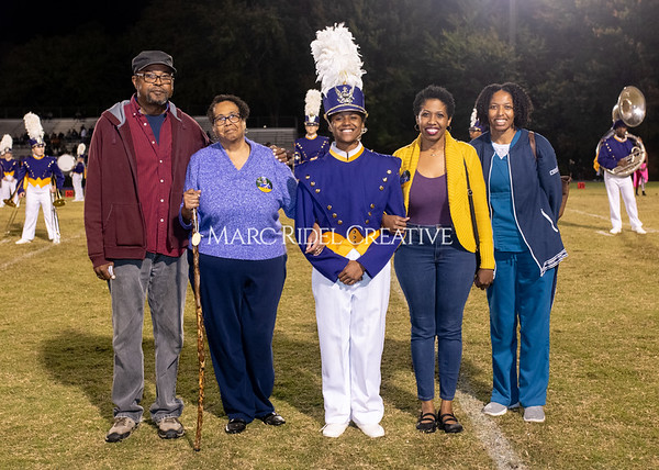 Broughton varsity football vs Cardinal Gibbons. Band and Dance Team Senior Night. October 25, 2019. MRC_3744