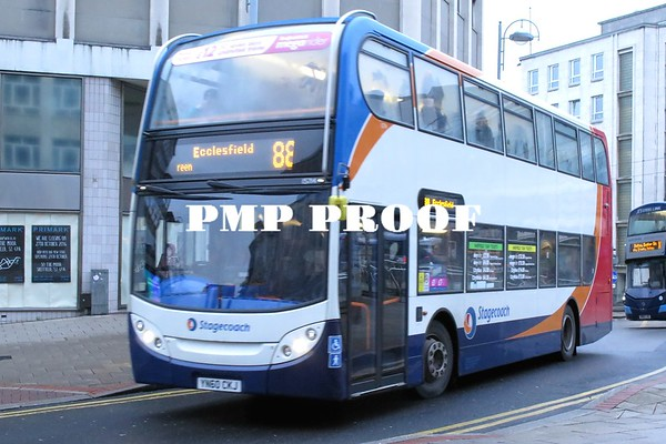 SHEFFIELD BUSES JAN 2017