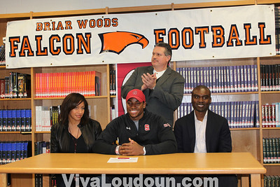 College Signing: Briar Woods Alex Carter Football (Stanford)