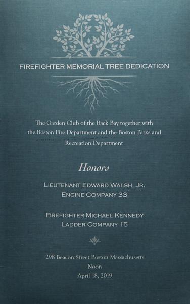 2019-04-18 Memorial Tree
