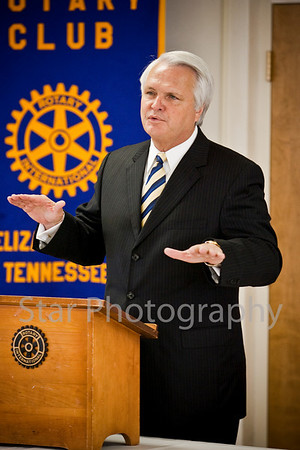 Ron Ramsey at Rotary Club 07-28-10