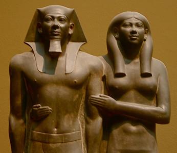King Menkaura (Mycerinus) and Queen Khamerernebty