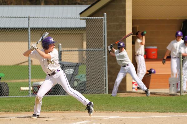 Baseball vs. Hackett - 4/29/14 - KCHS JV