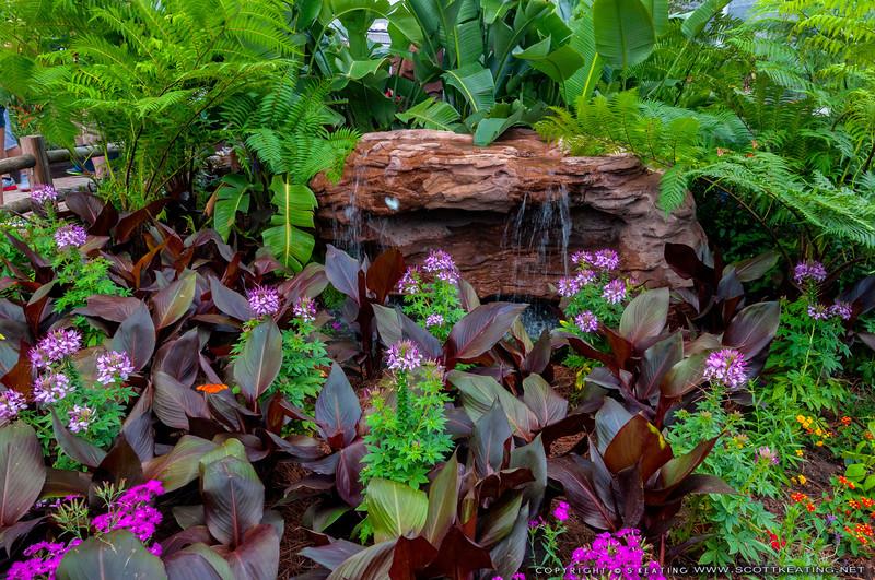 Bambi's Butterfly House<br /> Bambi's Butterfly House - Flower & Garden Festival 2012 - Epcot