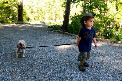 Kieran & Dogs