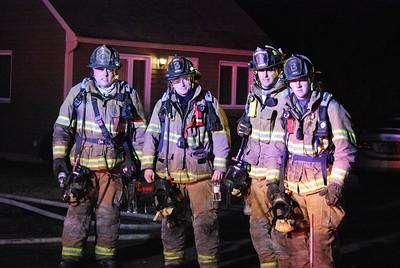 2 Alarm Structure Fire - Unknown Address, Meriden, CT - 1/1/15