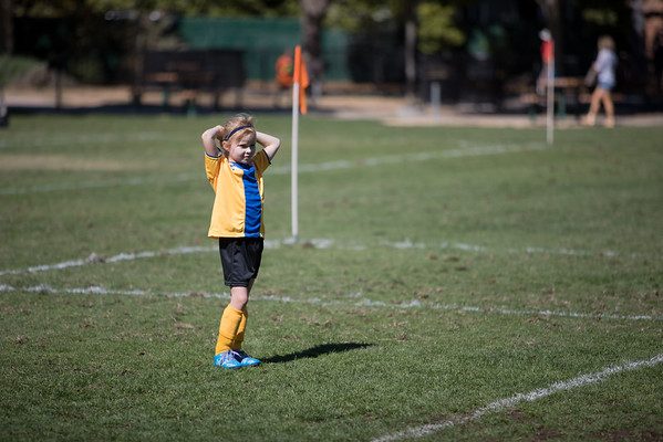 AYSO U8 Golden Girls