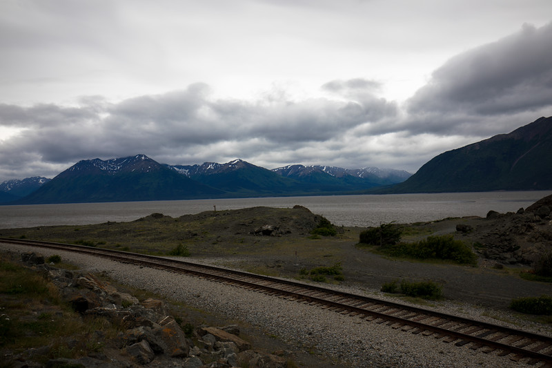 The rail road to Seward and Whittier