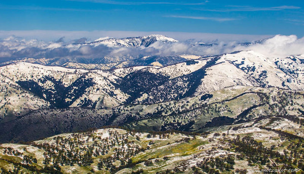 Springtime in California - From Snow Covered Mountains to Wildflowers