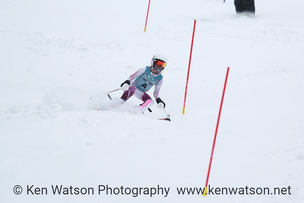 2018-03-10 NHARA U12 Championship Girls Slalom 2nd Run