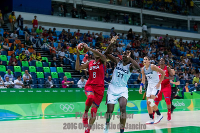 Women's Basketball: 2016 Olympics Rio