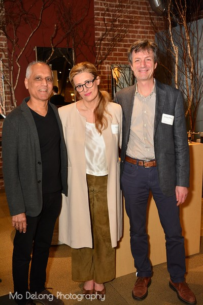 Zahid Sardar, Isabelle McGee and Jacques-Alban Callies