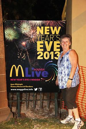 2013/14 New Years Eve in Wagga.