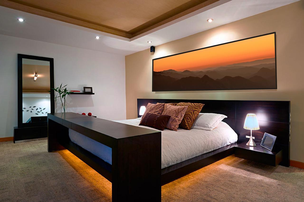 Malibu in bedroom