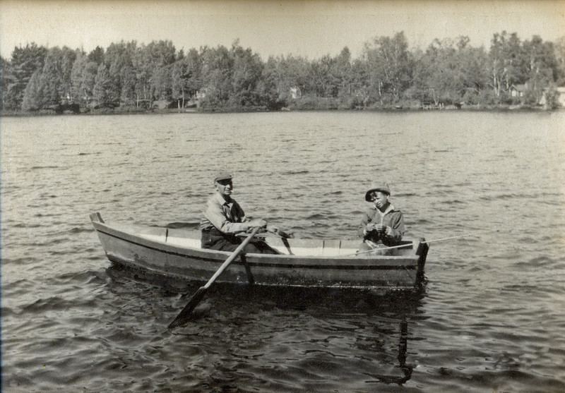 Fishing with John Paavola 1954