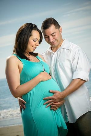Casandra and Roland (Maternity Photography, Capitola Beach, California)