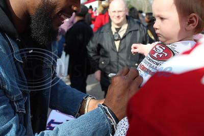 Elkhart Super Bowl Parade & Celebration for Jeffery Wilson Jr., by John Anderson