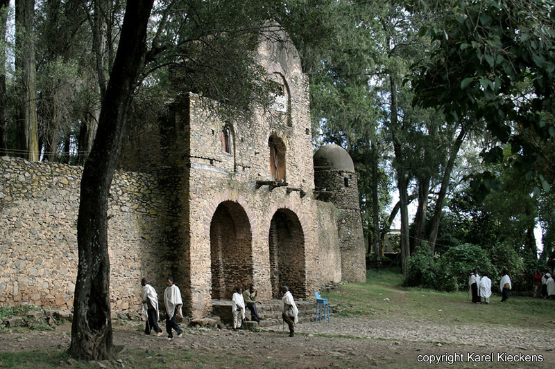 28.Gondar.Debre Berhan Selassie kerk.jpg