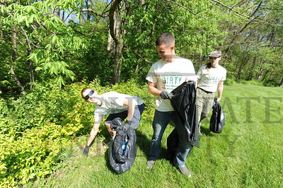 8459 Army ROTC Campus Cleanup 4-18-12