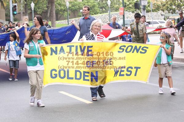 17th Annual Flag Day Parade Anaheim 06/09/2012