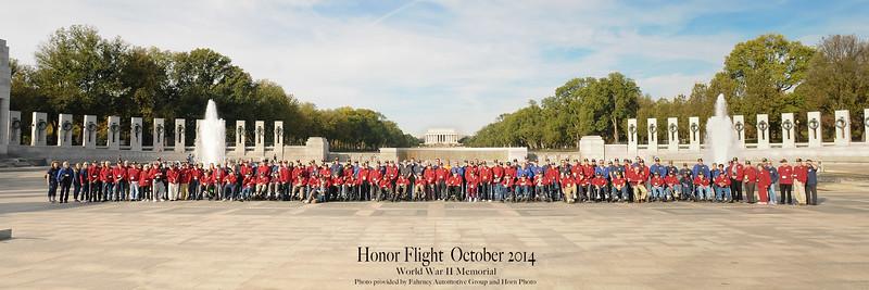 Honor Flight #5 (Oct2014)