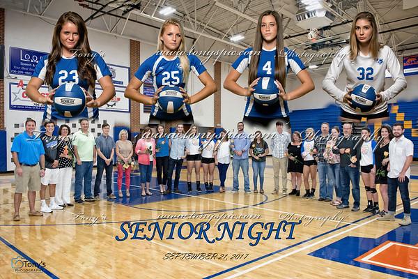 Senior Night 21 Sept 2017