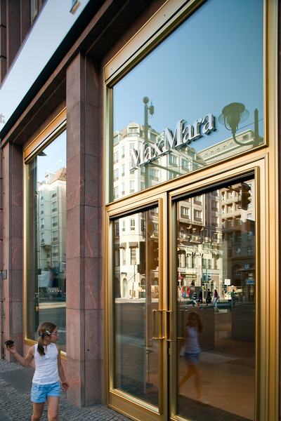 Max Mara boutique on Friedrichstrasse, Berlin, Germany