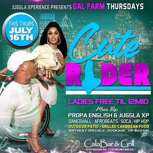 GAL FARM THURSDAYS PRESENTS CUTE RIDER