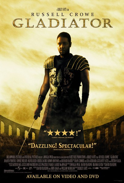 Gladiator (2000) - Films set in Italy