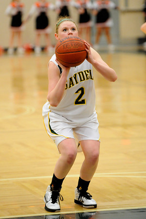 Girls Varsity Basketball - Carroll 2010-2011