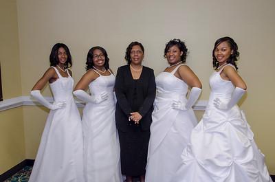 14th Annual Debutante Ball, Chesterfield Alumnae Chapter, Delta Sigma Theta Sorority, Incorporated 2013 Debutantes
