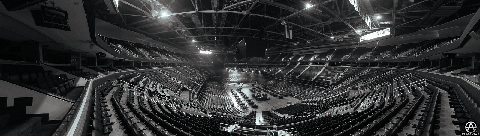Quicken Loans Arena in Cleveland, OH before the Alternative Press Music Awards 2015 by Adam Elmakias