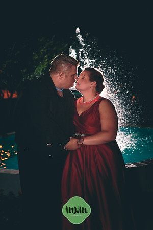 Danielle & Stuart's Dark, Art Deco Autumn Wedding at Preston Woodall House