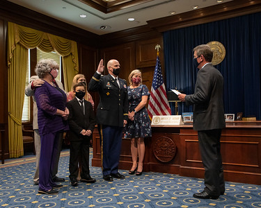 8.24.2020 Colonel Bishoff Swearing In Ceremony