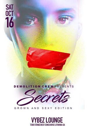 "SECRETS ""coming soon"""