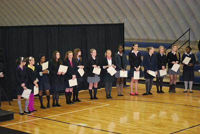 Winter Athletic Awards 2011
