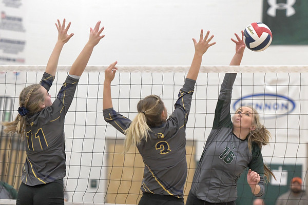 Tongue River Volleyball vs. Greybull (10-18-2019)