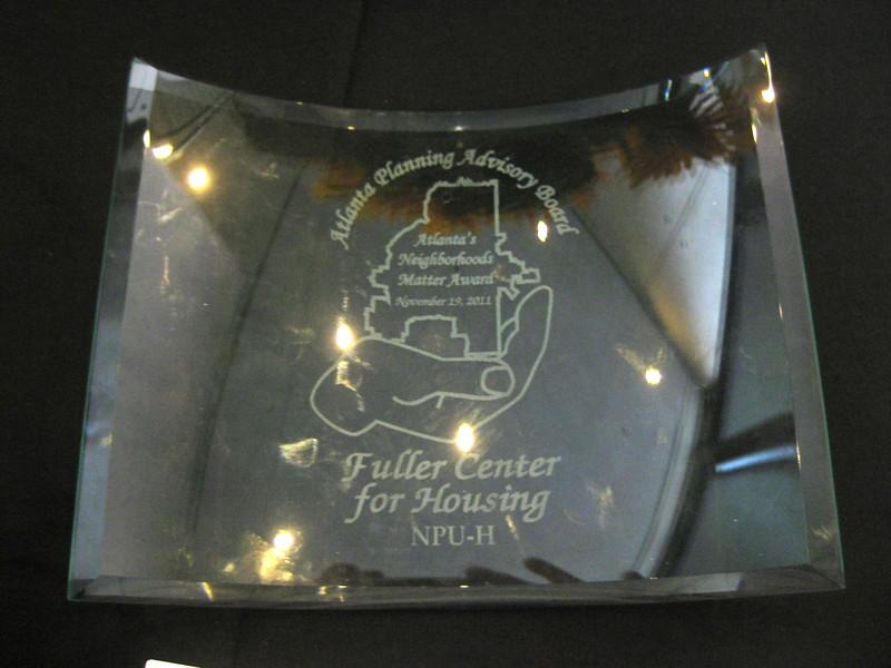 2011 11-19  Atlanta's Neighborhoods Matter Award. jg