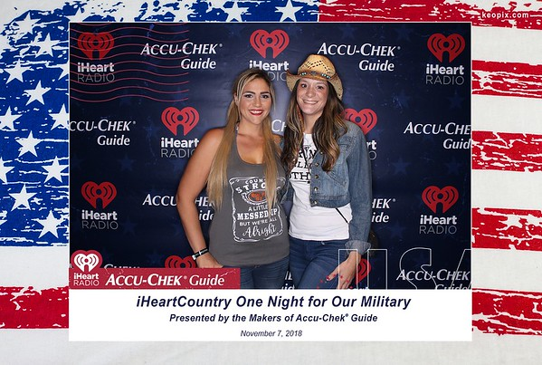 Prints - iHeartCountry One Night For Our Military presented by the makers of Accu-Chek Guide