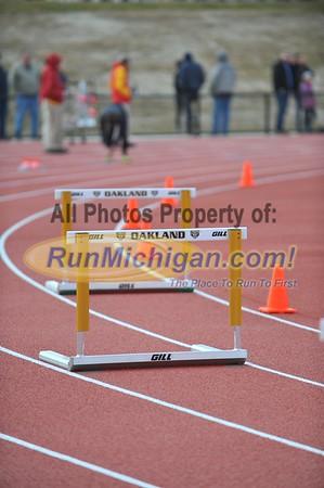 M&W 400 Hurdles - 2015 OU vs UDM T&F Dual Meet