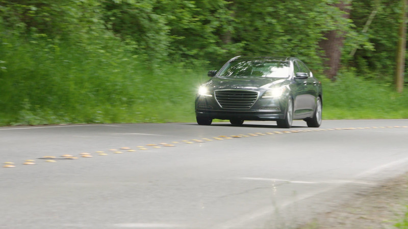 2017 Genesis G80 AWD 3.8 Driving Reel