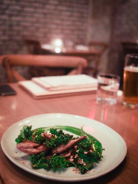 BBQ QUAIL BREAST Confit Leg, Beer Granola, Labneh, Kale.jpg
